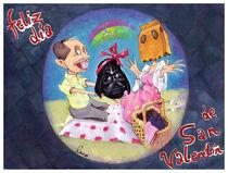 Feliz día de San Valentín von Lucas Canosa