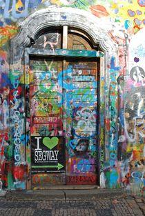 John Lennon wall, Prague... 2 von loewenherz-artwork