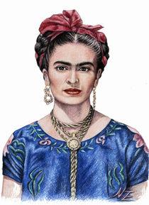 Frida Kahlo by Nicole Zeug