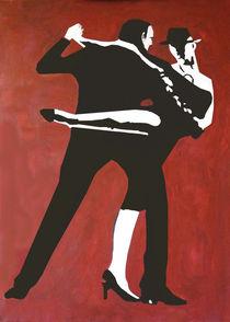 Tango abstrakt von Klaus Engels
