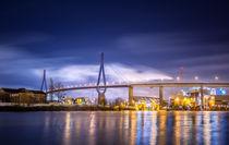 Köhlbrandbrücke II by photoart-hartmann