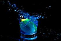 Blue coctail splash by nilaya
