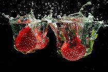 Strawberry splash by nilaya