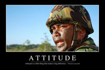Attitude Motivational Poster by Stocktrek Images
