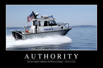 Authority Motivational Poster by Stocktrek Images