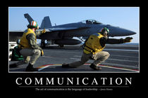 Communication Motivational Poster by Stocktrek Images