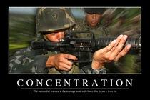 Concentration Motivational Poster by Stocktrek Images