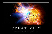 Creativity Motivational Poster by Stocktrek Images