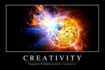 Creativity Motivational Poster by Stocktrek Images