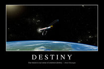 Destiny Motivational Poster von Stocktrek Images