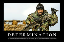 Determination Motivational Poster von Stocktrek Images