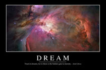 Dream Motivational Poster by Stocktrek Images