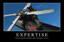 Expertise Motivational Poster by Stocktrek Images