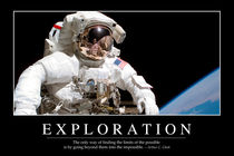 Exploration Motivational Poster by Stocktrek Images