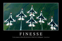 Finesse Motivational Poster von Stocktrek Images