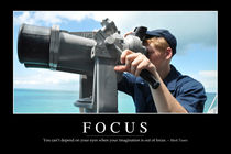 Focus Motivational Poster by Stocktrek Images