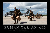 Humanitarian Aid Motivational Poster by Stocktrek Images