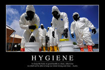 Hygiene Motivational Poster von Stocktrek Images