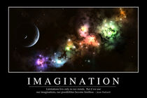 Imagination Motivational Poster by Stocktrek Images