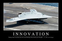 Innovation Motivational Poster von Stocktrek Images