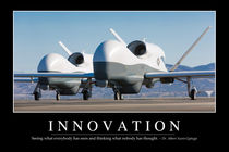 Innovation Motivational Poster by Stocktrek Images