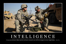 Intelligence Motivational Poster von Stocktrek Images