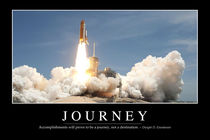 Journey Motivational Poster von Stocktrek Images