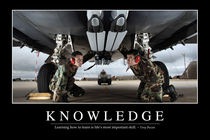Knowledge Motivational Poster von Stocktrek Images