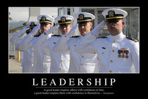 Leadership Motivational Poster by Stocktrek Images