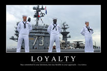 Loyalty Motivational Poster von Stocktrek Images