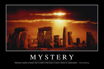 Mystery Motivational Poster by Stocktrek Images