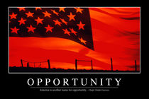 Opportunity Motivational Poster von Stocktrek Images