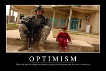 Optimism Motivational Poster von Stocktrek Images