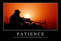 Patience Motivational Poster von Stocktrek Images