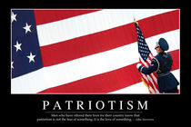 Patriotism Motivational Poster by Stocktrek Images