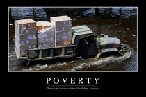 Poverty Motivational Poster by Stocktrek Images