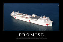 Promise Motivational Poster von Stocktrek Images