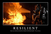 Resilient Motivational Poster by Stocktrek Images