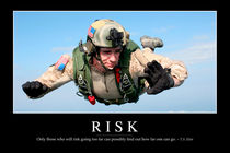 Risk Motivational Poster von Stocktrek Images