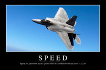 Speed Motivational Poster von Stocktrek Images