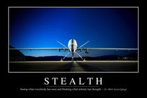 Stealth Motivational Poster by Stocktrek Images