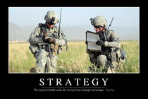 Strategy Motivational Poster von Stocktrek Images