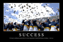 Success Motivational Poster von Stocktrek Images