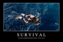 Survival Motivational Poster by Stocktrek Images