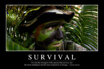 Survival Motivational Poster von Stocktrek Images