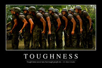 Toughness Motivational Poster von Stocktrek Images