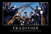 Tradition Motivational Poster by Stocktrek Images