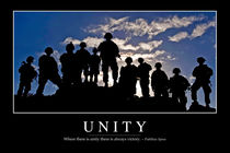 Unity Motivational Poster von Stocktrek Images