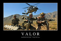 Valor Motivational Poster von Stocktrek Images
