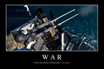War Motivational Poster von Stocktrek Images